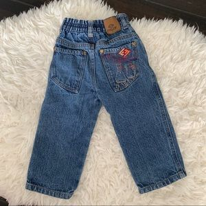 Encye Baby Boys Chemistry Embroidered Jeans 18 mo